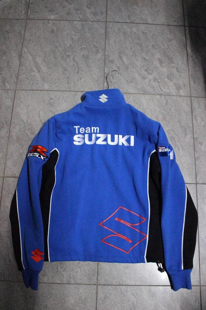 Klikněte pro detailní foto č. 3 - Pánská mikina na zip TEAM SUZUKI modrá. 32362be37c4