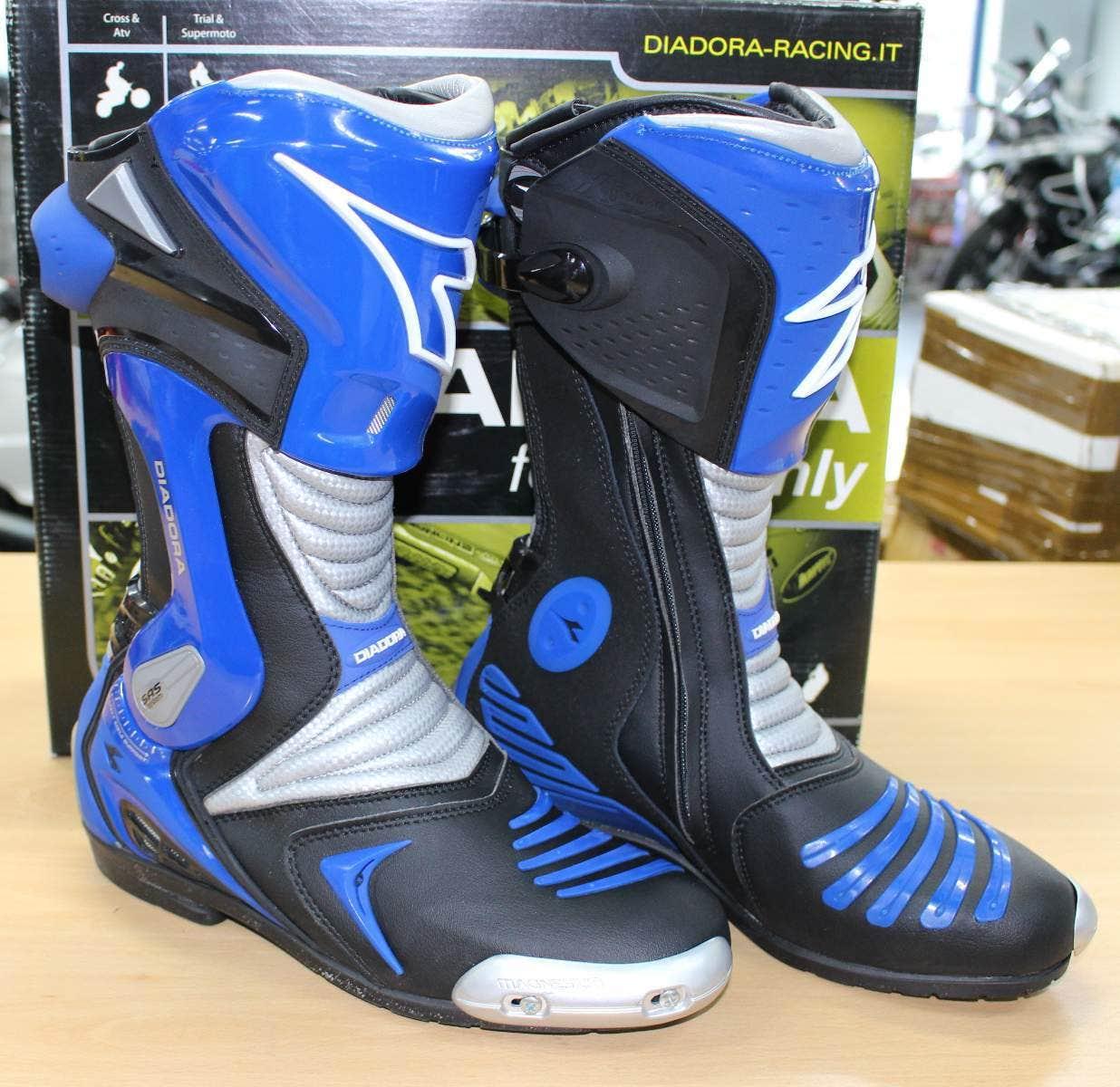 7831fe6897b Boty   Diadora  Sleva - Silniční boty Diadora Extreme černé  modré ...